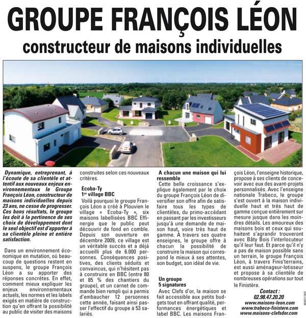 Développement du Groupe François Léon