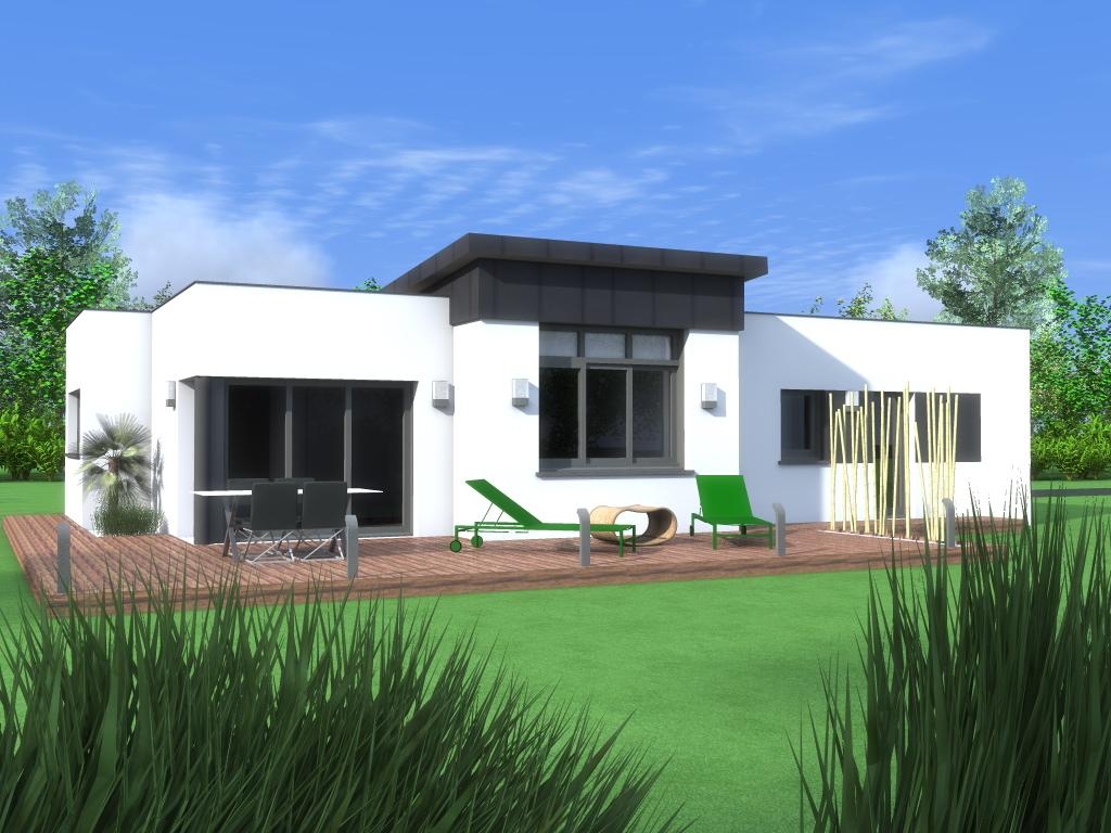 Maisons plains pieds constructeur de maisons individuelles for Maison design plain pied