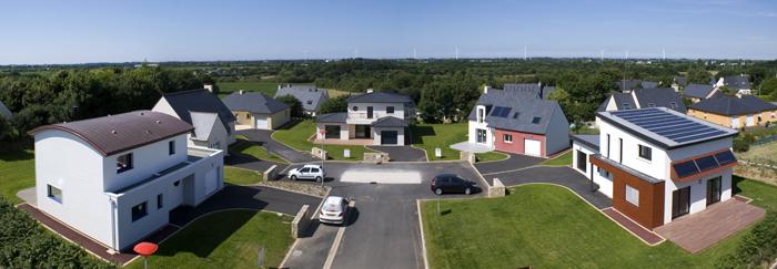 village de maisons BBC à visiter