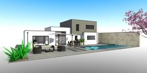 constructeur maison contemporaine Finistère